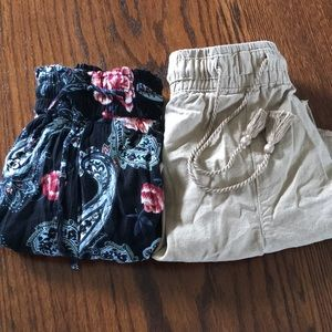 Women's shorts two pair for $10 plus shipping